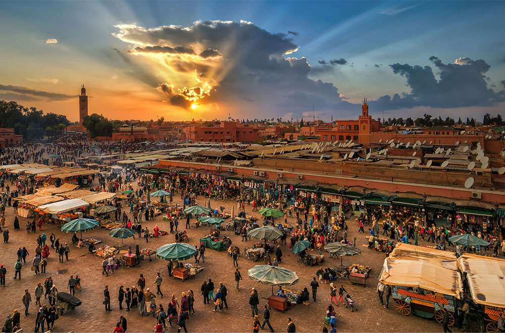 Marrakesh,-Marok